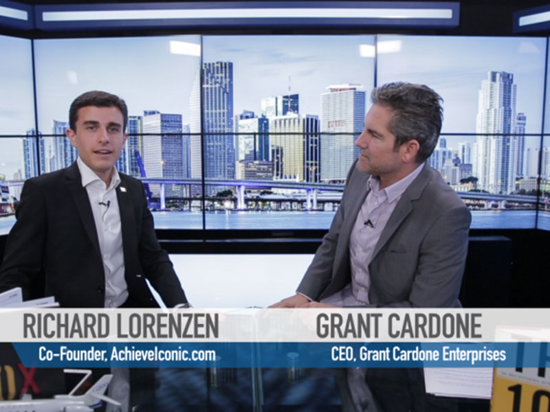 Exclusive Video Interview with Grant Cardone